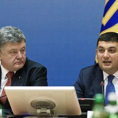 After mass protests across Ukraine Poroshenko and Government turn 180 degree and announce economic blockade of Donbas