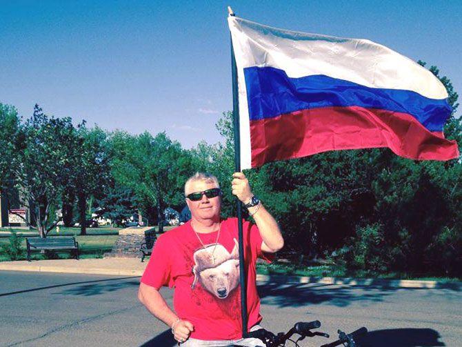 Vitaly Savin in Edmonton (photo)