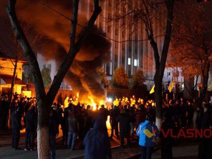 protest in Vinnytsya